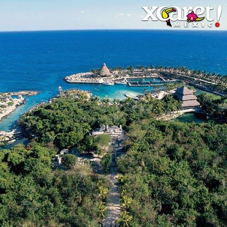 Parque natural Xcaret Riviera Maya