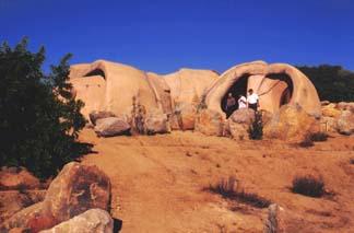 Ruta de arte rupestre en Baja California